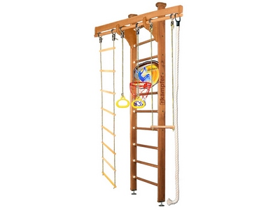 Спортивная стенка Kampfer Wooden Ladder Ceiling Basketball Shield